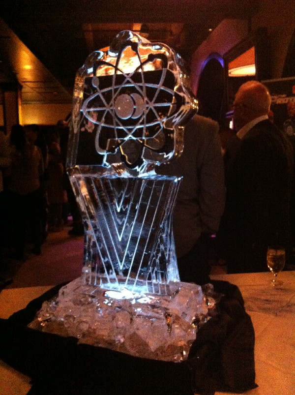 At the Athleta party, they had ice sculpture...