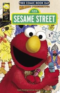sesame street fcbd