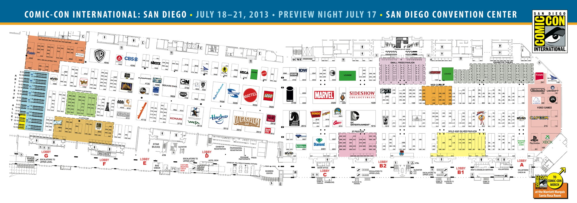 SDCC '13: The Map is here! - The Beat Sdcc Map on halloween map, otakon map, pax map, thundercats map, transformers map, convention map, sandman map, the dark knight map, tron map, thanksgiving map, tmnt map, black widow map, avengers map, spiderman map,