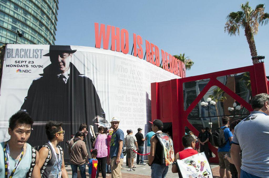 SDCC, SDCC2013, San Diego Comic Con, NBC, Blacklist preview area