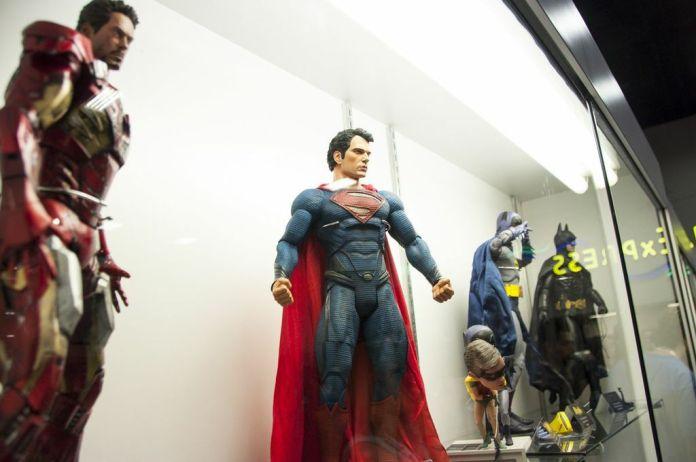 SDCC, SDCC2013, San Diego Comic Con, toys, exclusives, Iron Man, Superman, Batman