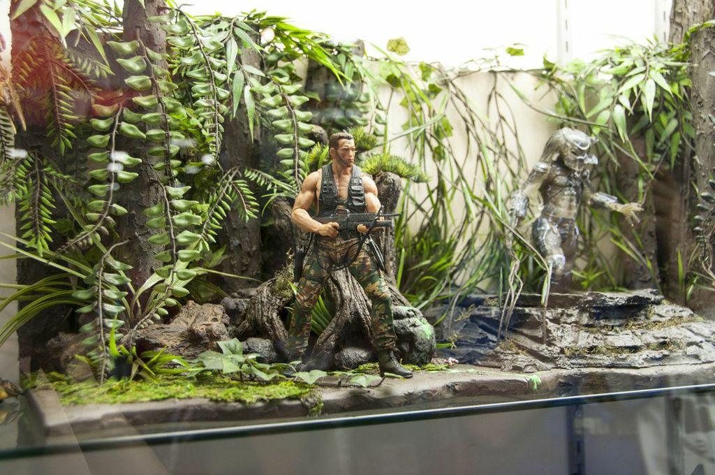 SDCC, SDCC2013, San Diego Comic Con, Predator, Arnold Schwarzenegger action figure