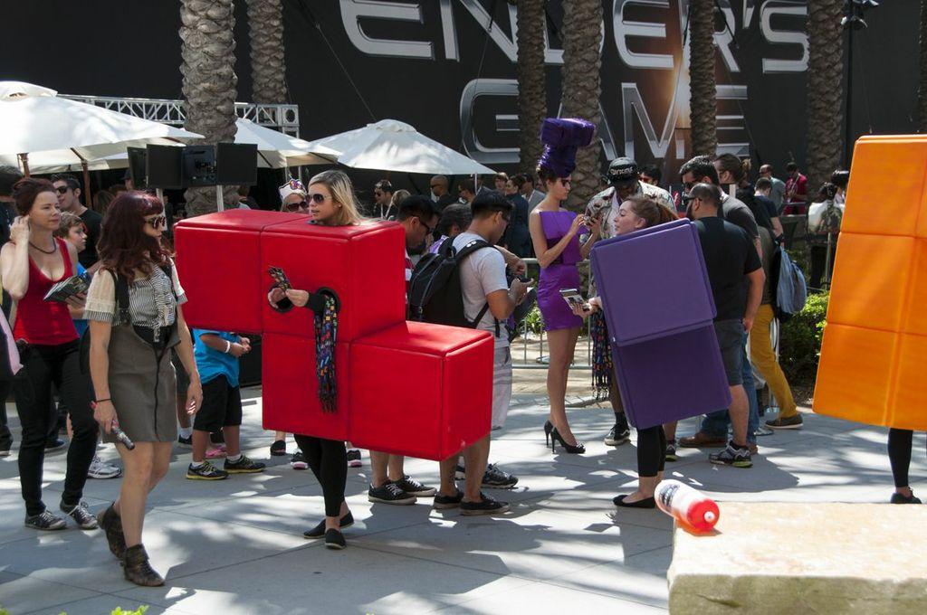 SDCC, SDCC2013, San Diego Comic Con, tetris, tetris hair