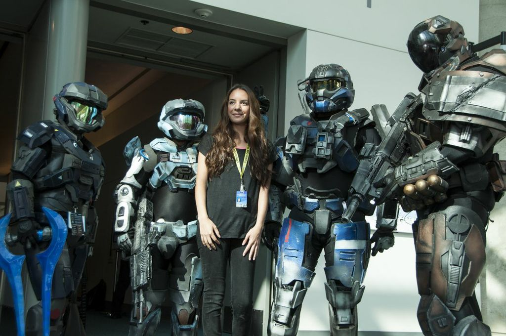 SDCC, SDCC2013, San Diego Comic Con, Halo, master chief, cosplayers