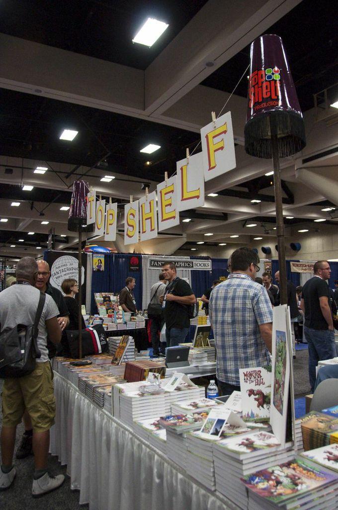 SDCC, SDCC2013, San Diego Comic Con, Top Shelf