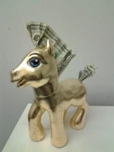 """""""Money Pony"""" by Dan Allen http://www.danallenart.com"""
