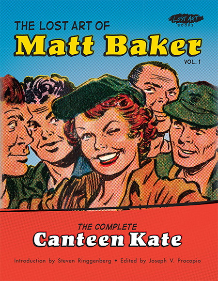Lost Art of MATT BAKER Cover