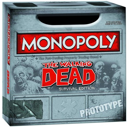 Walking Dead Comic Ed PX Monopoly 02