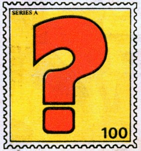 value-stamp-100-question-mark