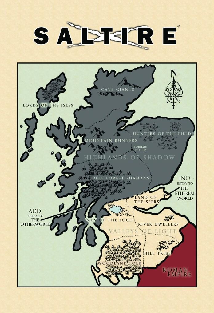 Saltire Map