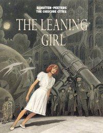 leaning girl
