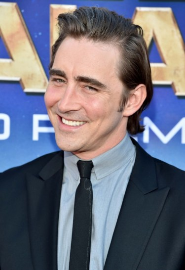 """Oh you,"" says Lee Pace."