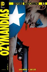 Before Watchmen: Ozymandias #3. DC Comics. Art by Jae Lee.