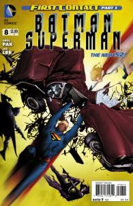 Batman/Superman #8. DC Comics. Art by Jae Lee.