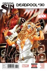 Deadpool #30. Marvel Comics. Art by Mark Brooks.