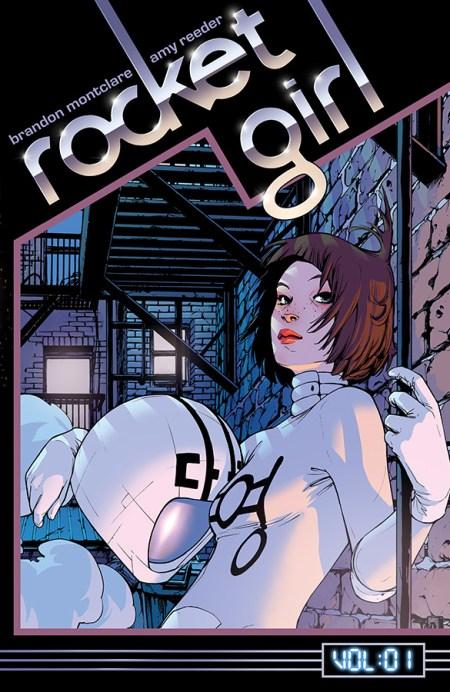 Rocket Girl Vol 01 SDCC 2014 HC