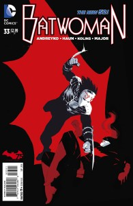 Andreyko's latest issue of Batwoman.