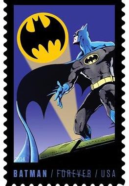 Batman-stamp-Bronze-Age