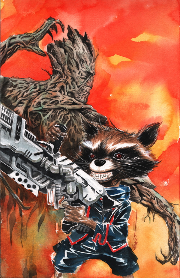 Guardians of the Galaxy #21 by Dustin Nguyen