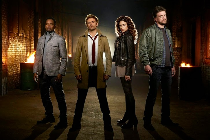 Constantine - New Set of Cast Promotional Photos