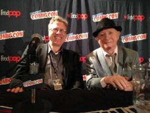 Danny Fingeroth and Irwin Hasen, comics legend.