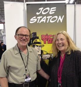Joe Staton and Lois Lane