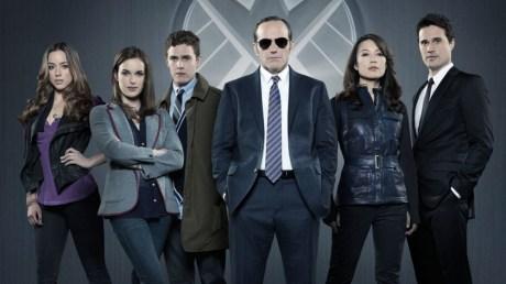 The cast of Agents of S.H.I.E.L.D. Photo Credit: ABC.Marvel Studios