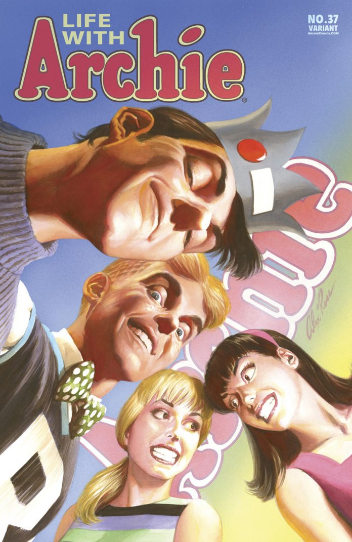 alex ross life with archie