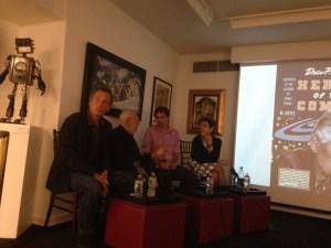 Drew Friedman, Al Jaffee, Sean Howe and Karen Green, Society of Illustrators.