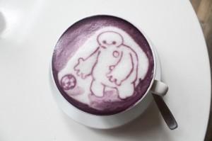 Sweet Purple Potato Latte