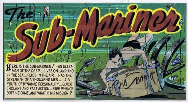 Submariner 1 panel 1