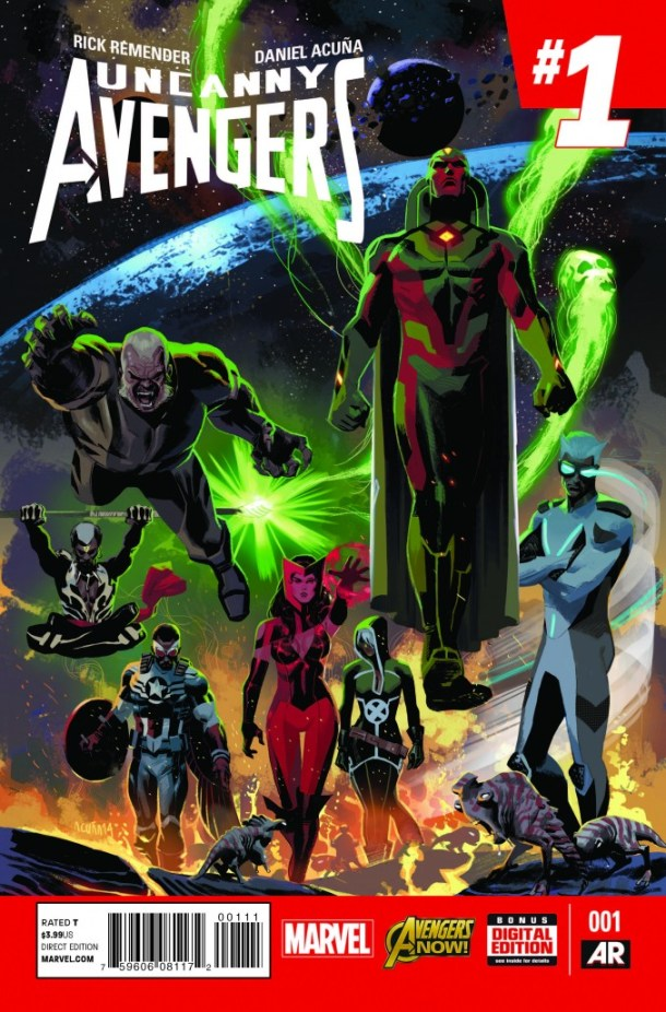 Uncanny Avengers #1 Cover - Art by Daniel Acuña