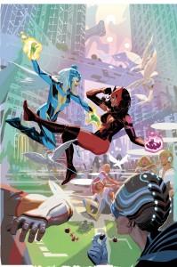 Uncanny Avengers #3 Cover, Art by Daniel Acuña