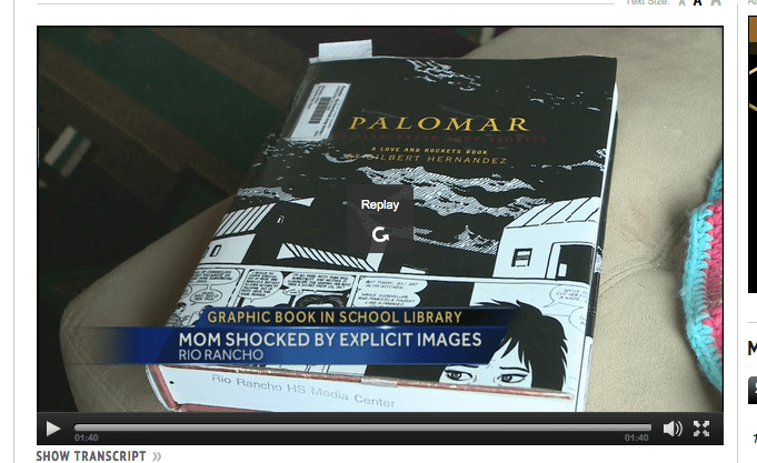 Student finds pornographic book at Rio Rancho High   New Mexico News   KOAT Home.png