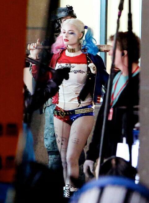 Harley quinn robbie