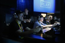 Many waited upwards of 2hrs to play Battlefront
