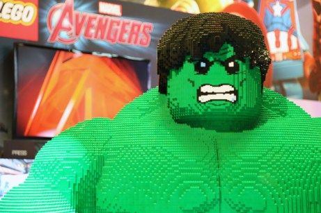 Hulk smash WB booth