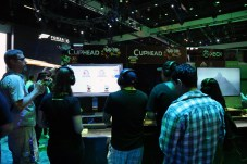 Cuphead at the Xbox booth