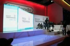 Nintendo Treehouse stage