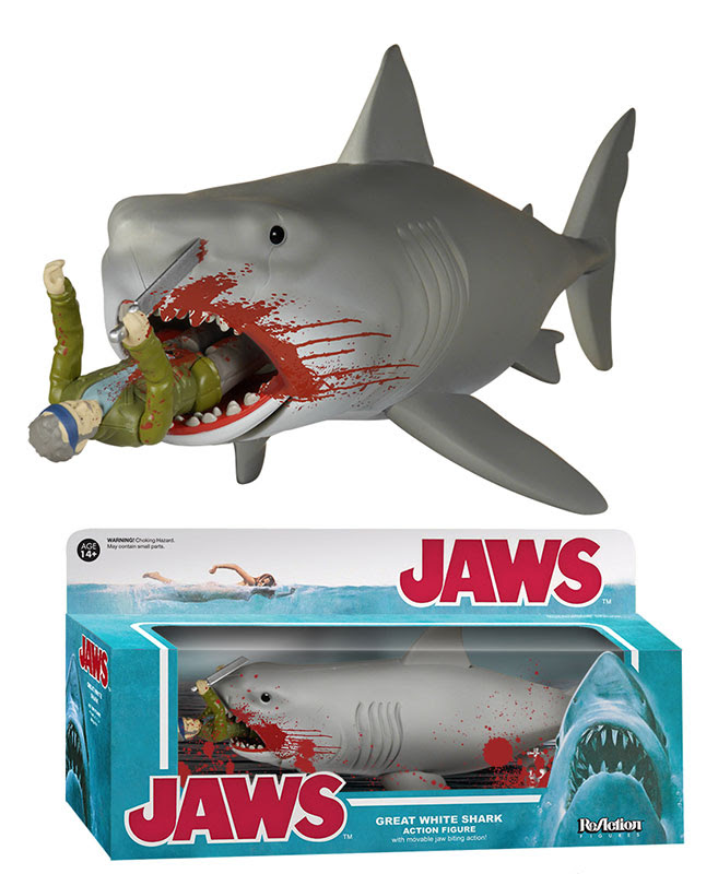 ReAction: Jaws - Bloody Quint and Shark