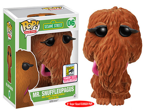 "Pop! TV: Sesame Street - 6"" Flocked Mr. Snuffleupagus"