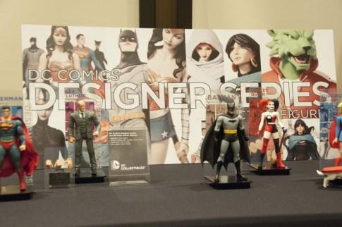Superman, Lex Luthor, and Batman.