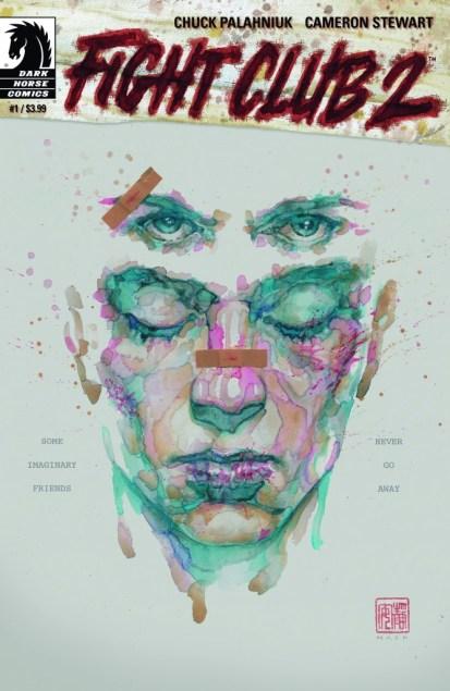 Fight Club 2 #1 cover by David Mack