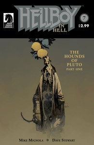 cover by Mignola with Stewart