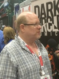 Mark Waid at SDCC '15