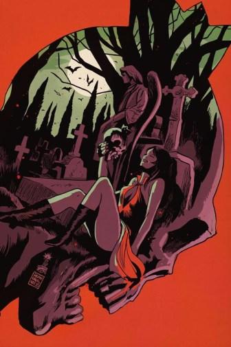 Vampironica Cover by Francesco Francavilla