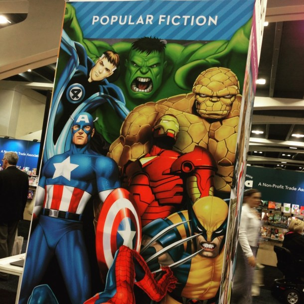 ALAAC '15: Poplur Fiction, Illustrated Fiction, Graphic Novels - it's all comic books
