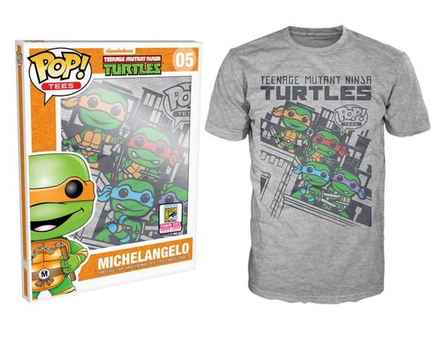 Pop! Tees: Teenage Mutant Ninja Turtles - Skyline Group