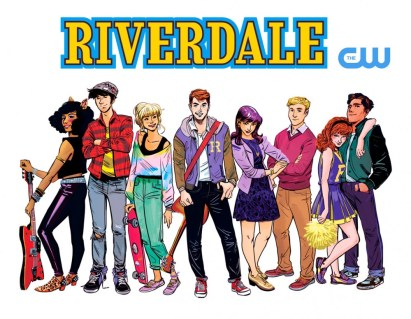 Riverdale TV Series, art by Veronica Fish
