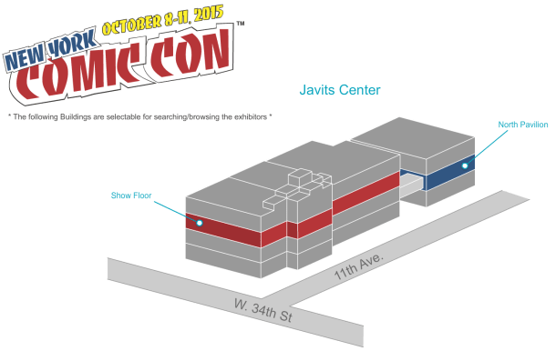NYCC\'15: New York Comic Con Releases Show Floor Map. Panic Now and ...